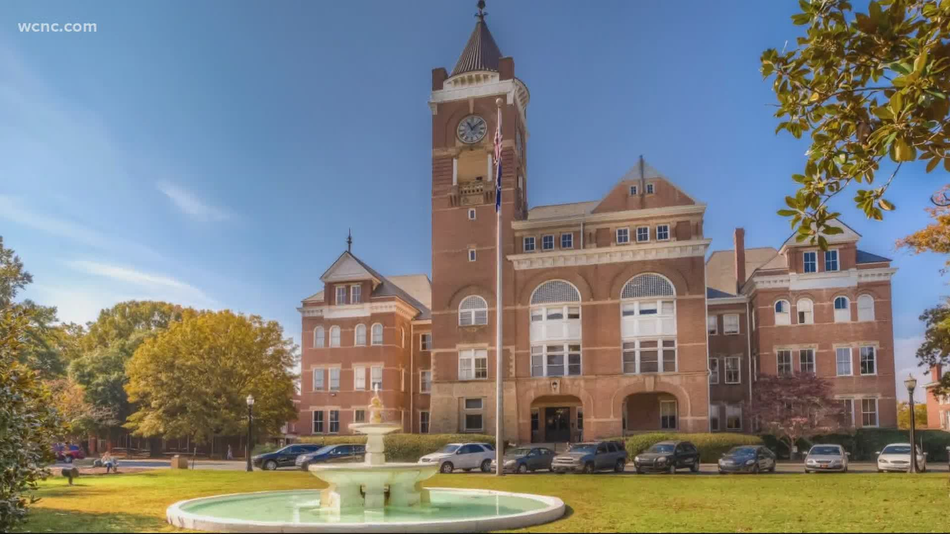 Winthrop University in Rock Hill