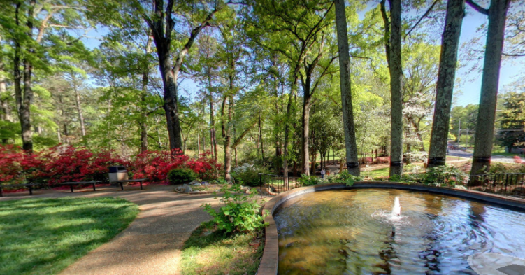 Glencairn gardens in Rock Hill